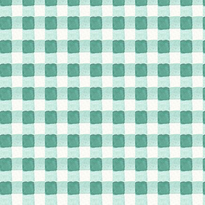 Gingham in Watercolor