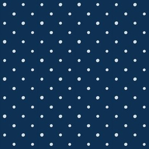 Dots on Indigo