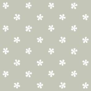 Carthusian Pink on Gray