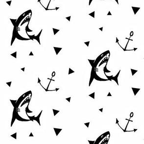 Shark fin white - Namümade