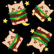 Cat Burgers - Stars