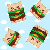 Cat Burger - Clouds