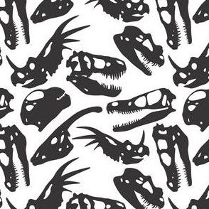 Mono Dino Skull Toss
