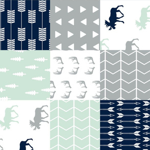 Patchwork Wholecloth Northern Lights (90)