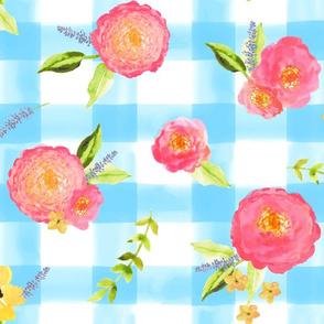 Watercolor Summer Floral
