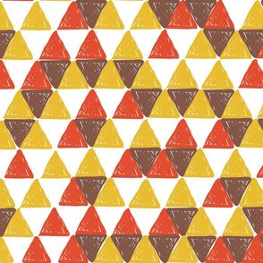 Red and Yellow Triangles