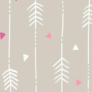 Large Tan Arrows