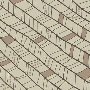Tan Diagonal Plumes