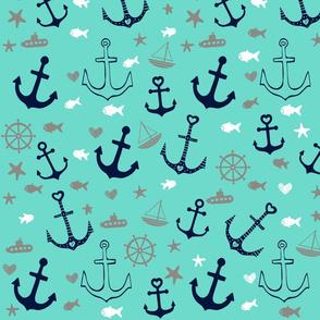 Aqua Multi Anchors
