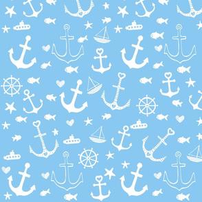 Sky Blue Multi Anchors