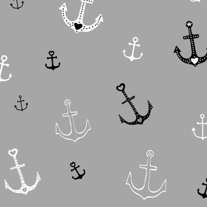 Large Anchors on Grey