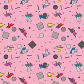 Candy Memphis Inspired Pattern 9