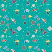 Candy Memphis Inspired Pattern 10