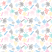 Candy Memphis Inspired Pattern 13