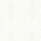 Pewter Pin Dot Patterns on White