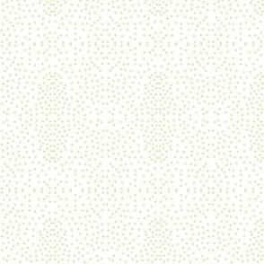 Pewter Pin Dot Patterns on White