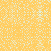 Pewter Pin Dot Patterns on Warm Sunshine
