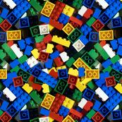 seamless building bricks blocks small
