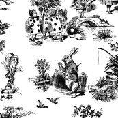 alice black toile de jouy large