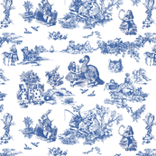 alice blue  toile de jouy smaller
