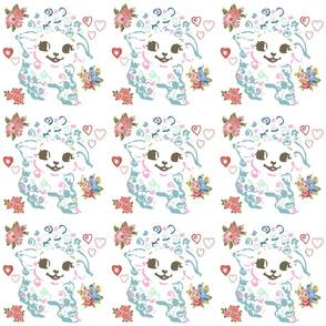 Kitschy Lambie Full of Love