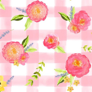 Summer Floral // Pink