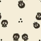 Bitty Skulls - pepper