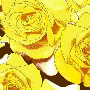 Zonte_Yellow_Roses_on_Chocolate