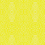 Pewter Pin Dot Patterns on Lemon Zest