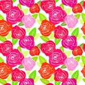 Technicolor Roses