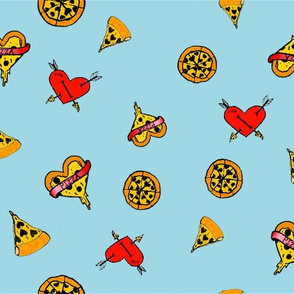 Pizza Love Coordinate