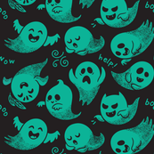 Scary ghosts