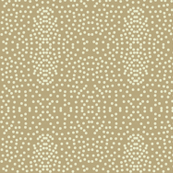 Pewter Pin Dot Patterns on Taupe