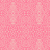 Pewter Pin Dot Patterns on Rose Pink