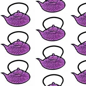 Purple Teapot
