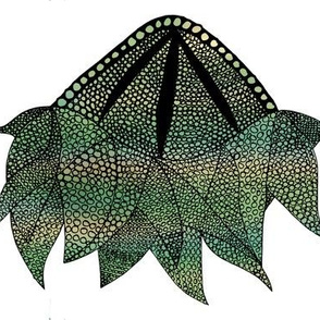 Monster Jellyfish Dark Green