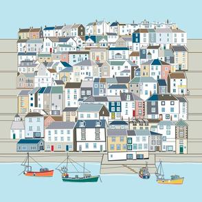 Coastal Town Panel