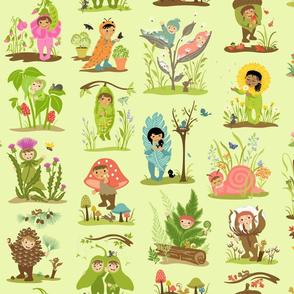 Little Cuties Nature Green
