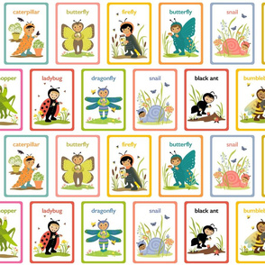 Little Cuties Bug Cards