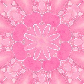 Pink Watercolor Flower