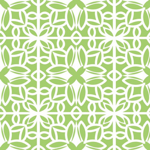 Green Tile Cutout