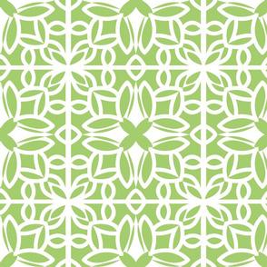 Green Tile Cutout