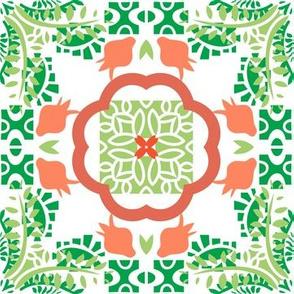 Green Tile Morrocan