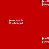 Solemn Mischief Red 1