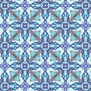 Hobriel's'Tiles A - Blue