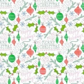 festive holiday pattern