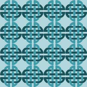 Baby Blue Celtic Knot