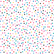 Candy Baby Dots on White Large