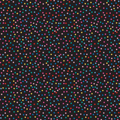 Candy Baby Dots on Black Small