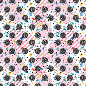 Pink Candy Memphis Circles